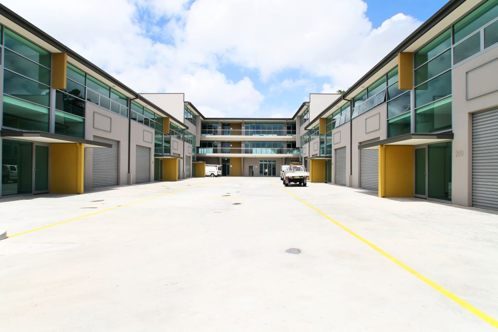 COMPASS BUSINESS PARK LANE COVE, Exterior Rear Industrial Units